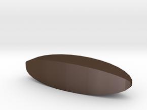 Blank d4 Steinmetz Stick Die in Polished Bronze Steel