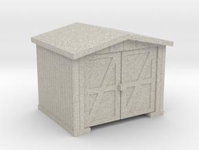 Shack - HO 87:1 Scale in Natural Sandstone