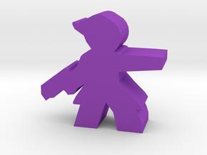 Game Piece, Goddess Republic Scientist in Purple Processed Versatile Plastic