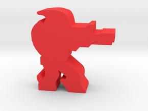Game Piece, Calibration Confed Sniper in Red Processed Versatile Plastic