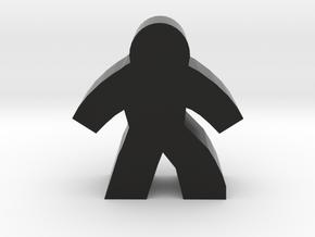 Game Piece, Harvester Zombie in Black Natural Versatile Plastic