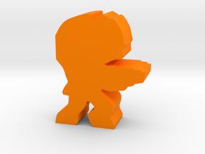 Game Piece, Space Grunt Trooper in Orange Processed Versatile Plastic