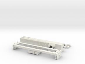 G12 HO Scale in White Natural Versatile Plastic