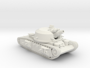 Land-Dreadnought (6mm) in White Natural Versatile Plastic