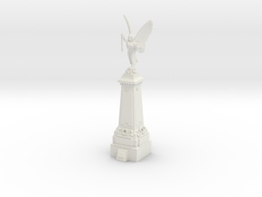 TT Gauge War Memorial in White Natural Versatile Plastic