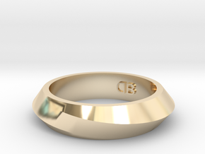 Infinity Ring - Size 7 in 14K Yellow Gold