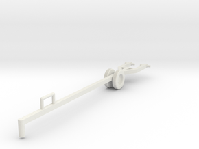 Power Lift Tow Bar (BSG Galactiguise.com), 1/32 in White Strong & Flexible