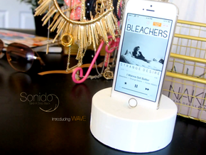 Sonido - WAVE (HQ Acoustic Speaker)  in White Processed Versatile Plastic