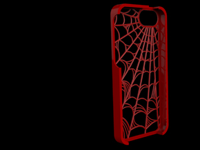 Webbed: Case for Iphone 5S in Red Processed Versatile Plastic