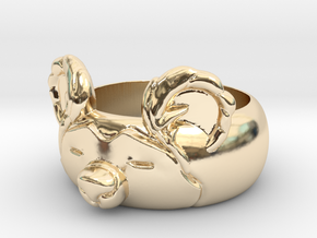 BearRing S9 in 14k Gold Plated