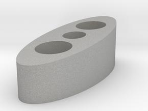 10mm Riser 7.5 Degree in Raw Aluminum