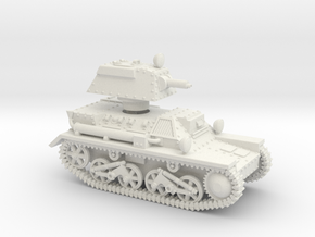Vickers Light Tank Mk.III (15mm) in White Natural Versatile Plastic