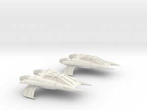 Thunder Fighter Quad 1/200 in White Strong & Flexible