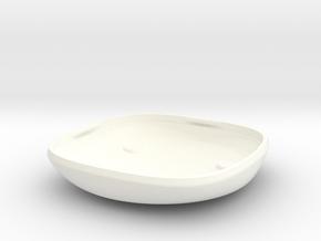 CPRO Case V2-Back in White Processed Versatile Plastic