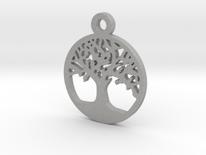 Tree Of Life Pendant in Aluminum