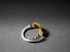 Kingdomblade Ring 8.5 in White Natural Versatile Plastic