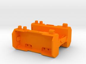 Kyosho Mini-Z Monster MM-01 chassis in Orange Processed Versatile Plastic