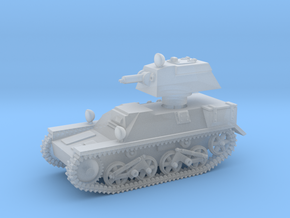 Vickers Light Mk.III (1/144 scale) in Smooth Fine Detail Plastic