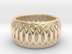Ring of Rings - 17.1mm Diam in 14k Gold Plated