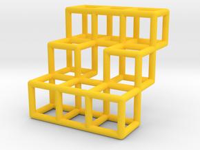 Stairs Pendant in Yellow Processed Versatile Plastic