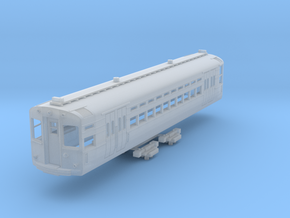 N Scale CTA 1-50 Series Car (Trolley Pole Version) in Smooth Fine Detail Plastic