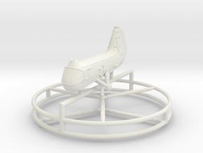 1/285 Piasecki HUP in White Natural Versatile Plastic