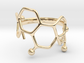Cortisol Ring - Size 7  in 14K Yellow Gold