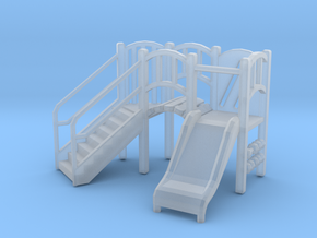 Playground Equipment 01. HO Scale (1:87) in Smooth Fine Detail Plastic