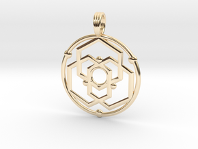 SATURNIAN MAGNETISM in 14K Yellow Gold