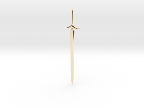 Small Claymore in 14K Yellow Gold