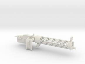 Spandau gun 1/10 in White Natural Versatile Plastic
