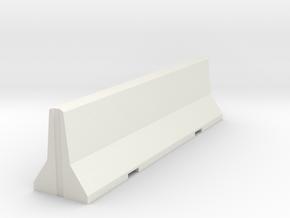 1/35 CONCRETE-JERSEY in White Natural Versatile Plastic
