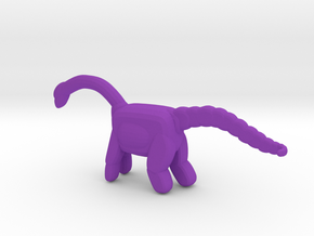Dino in Purple Strong & Flexible Polished