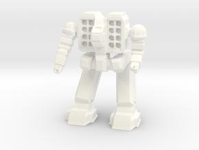 Reaper Pose 1 in White Processed Versatile Plastic