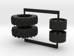 16.9-34 drive tires in Black Strong & Flexible
