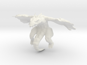 Drake Zbrush in White Natural Versatile Plastic