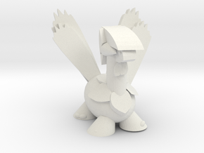 Tropius in White Natural Versatile Plastic