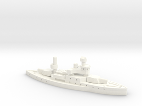 HTMS Ratanakosindra 1/1800 in White Strong & Flexible Polished
