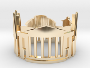 Edinburgh Ring - Gothic Ring in 14K Yellow Gold: 5.5 / 50.25
