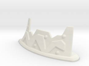 28mm Ork Firing Position in White Natural Versatile Plastic
