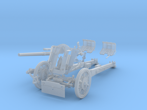 "GA001  leFH 18 ""Howitzer"" 10.5 cm 28mm wargames  in Smooth Fine Detail Plastic"