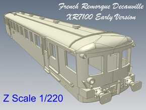 1-220 Remorque XR7100 Decauville  in Smooth Fine Detail Plastic