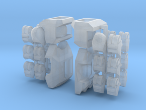 Stormwave Mecha Suit – Poseable Hands in Frosted Ultra Detail