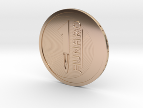 Lunaro-2016-big in 14k Rose Gold Plated Brass