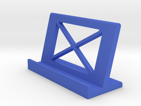 Phone Tab Stand in Blue Processed Versatile Plastic