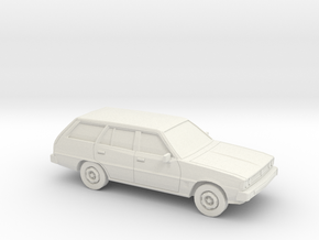1/87 1978 Mitsubish Galant Station Wagon in White Strong & Flexible