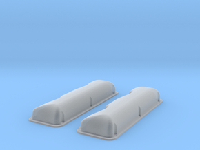 1/18 409 Smooth Valve Covers File in Smooth Fine Detail Plastic