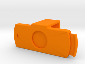 Webcam Cover - Logitech C920 - w/ Sliding Shutter in Orange Processed Versatile Plastic