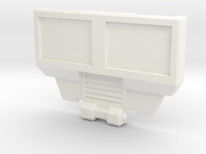 Hotspot Combiner Wars  BorstPlaat met Positie Gate in White Strong & Flexible Polished