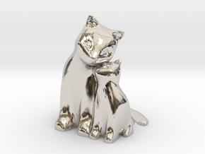 Cuddling Kittens in Platinum